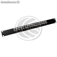 Patch Panel 16 ports BNC coaxial femelle (RX91-0002)