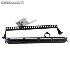 Patch panel 24 puertos utp cat 6