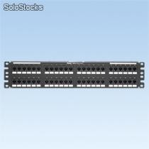 Patch Panel, Cat 5e, Piso, 48 puertos, 2u marca Panduit
