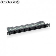 Patch panel equIP 125295 - 50 puertos - categoria 3 - telefonico