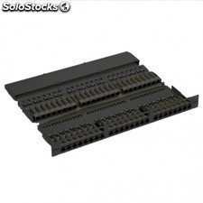 Patch panel equIP 326448 - 48 puertos RJ45 apantallados - categoria 6 -