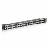 Patch panel equip 769248 - 48 puertos keystone - categoria 6 -