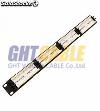 Patch panel utp CAT5E 24 puerta RJ45