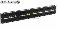 Patch panel utp CAT5E 48 puerta RJ45