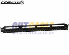 Patch panel utp CAT6 24 puerta RJ45