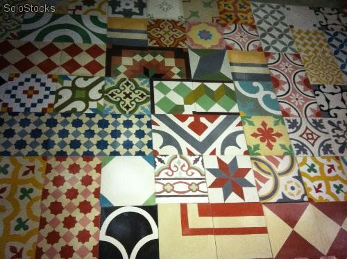 patchwork carreaux ciment maison design