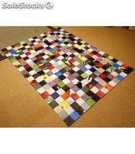Patchwork multy colores - home