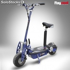 Patin ete electrico 1000W carbon blue 36V