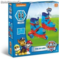 Patines 3 En linea Patrulla Canina Paw Patrol T.29 a 32