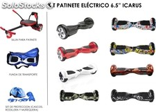 patinete electrico 2 ruedas con led (set)