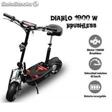 Patinete eléctrico Adulto potente DIABLO 1900W brushless SABWAY