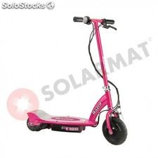 Patinete eléctrico e100 electric scooter pink