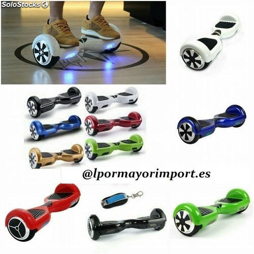 Patinete eléctrico scooter balance bluetooth Patinete hoverboard