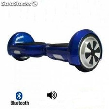 Patinete eléctrico Smart Wheels con bluetooth - Mini scooter color AZUL