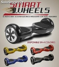 Patinete eléctrico Smart Wheels - mini scooter con autoequilibrio color AZUL