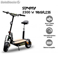 Patinete eléctrico stampida 2300w brushless | patinetes eléctricos