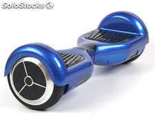Patinete scooter eléctrico azul