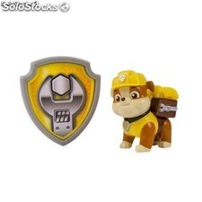 Paw Patrol 20070858 Action Pack Rubble y Placa