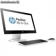 "PC all in one HP 23-q103ns - i5-4460t 1.9ghz - 4gb - 1tb - 23""/58.4cm fhd -"