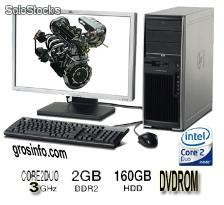 pc complete core2duo hp xw4600 workstation