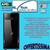 Pc desktop amd a4-3400 fm1 - 4gb ram - hd 500 GB - dvd - win 7 pro