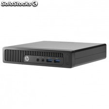 Pc hp 260 g1 mini - intel 3558u 1.7ghz - 4gb - 500gb - 2xUSB 2.0 - 2xUSB 3.0 -