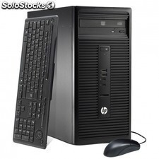 PC HP 280 g1 microtower business l3e09es - intel g1840 2.8ghz - 4gb - 500gb -
