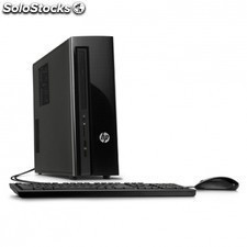 PC HP slimline 411-a000ns - intel n3050 1.6ghz - 4gb - 1tb - DVD rw - dvi -