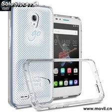 PC+ TPU Go Play Case Funda Clear Cover Case for Alcatel OneTouch Go Play