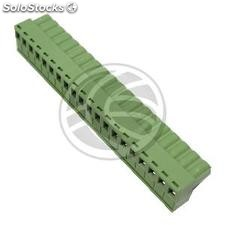PCB female connector 20-pin 7.62mm (TD30)