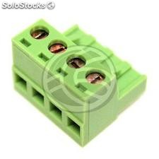 PCB female connector 4-pin 5.08mm (TD23)