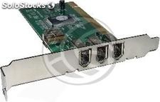 Pci Card FireWire 400 ieee 1394 (3 ext + 1 int) (FW01)