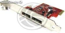 PCI-Express adapter eSATA3 6-2-Gbps external ports (DT62)