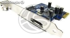 Pci-Express adapter to eSATA (1 ext) SIL3132 (DT02)