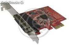 Pci-Express card Series 16C950 (4S 4xDB9 Cable) (TE04)