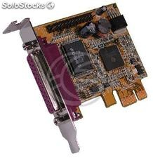 Pci-Express Card spp epp ecp parallel low-profile 2-port (TP33)