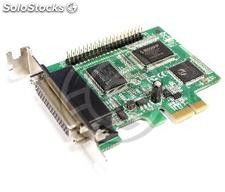 Pci-Express Card spp epp ecp parallel low profile 4 port (TP35)