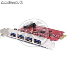 Pci-Express Card to usb 3.0 4-Port External (UU03-0002)