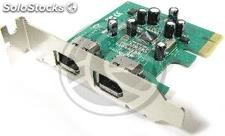 Pci-Express FireWire 400 ieee 1394 flex-atx (2-Port) (FW05)