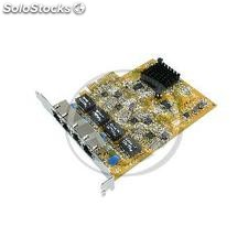 Pci-Express Gigabit Ethernet 10/100/1000BASE-tx (4xRJ45) (RA33)