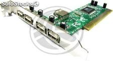Pci usb 2.0 5-Port (4AH +1 ah) (US38)