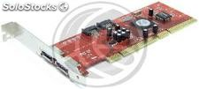Pci-x adaptador SATA2 raid (2 + 2 int ext) (DM75-0002)