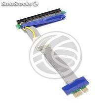 PCIe 16X extension cable 19cm powered 1X riser card (CX71)