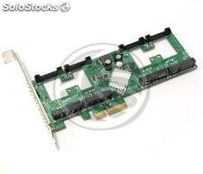 PCIe card for SATA3 sataiii mSATA PCIexpress 4-port (MS02)