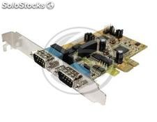 PCIe PCI-express card RS485 to RS422 with power protection and opto-isolated