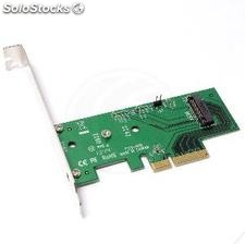 PCIe pci-Express card to hdd ssd ngff m.2 a port (MS22)