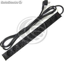 PDU strip 9 way for server rack 19\'\' by RackMatic (RE01)