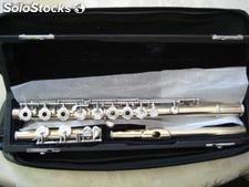 Pearl 14k yellow gold handmade flute----9000Euro