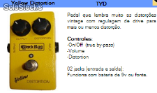 Pedal (Yellow Distortion) Distortion Vintage