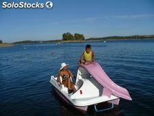Pedalboat, tretboot, pedalo, paddleboat, beach accessories ...